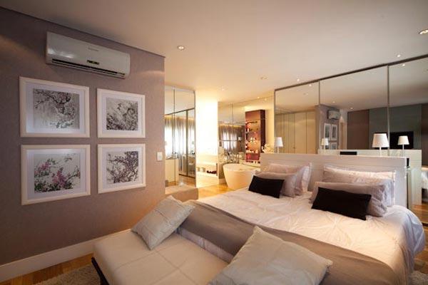 Separei algumas sugestões de decoração de quartos, com cores