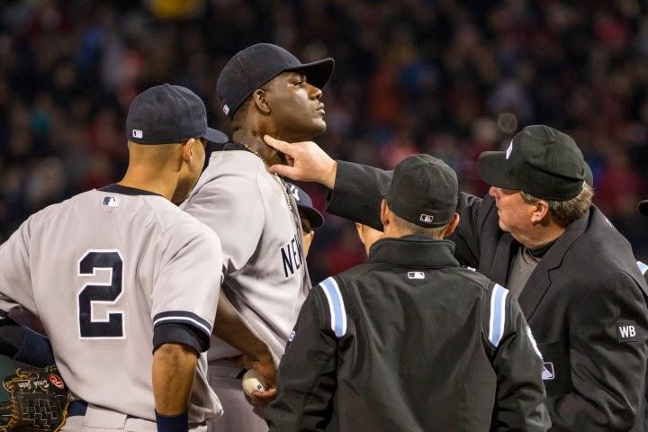 Pine Tar, Michael Pineda, New York Yankees