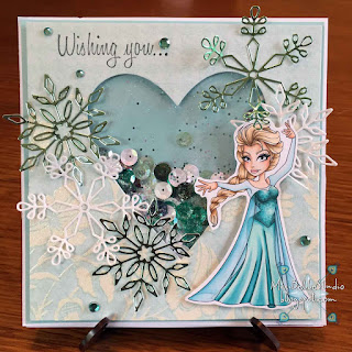 Sassy Studio Designs Let It Go Sassy Elsa