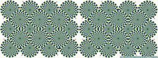 Une couverture facebook animée Vos yeux vous trompent Illusion Optique