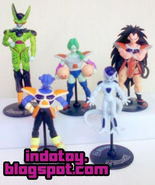 Jual Action figure Dragon Ball Z figure isi 10 seri 2