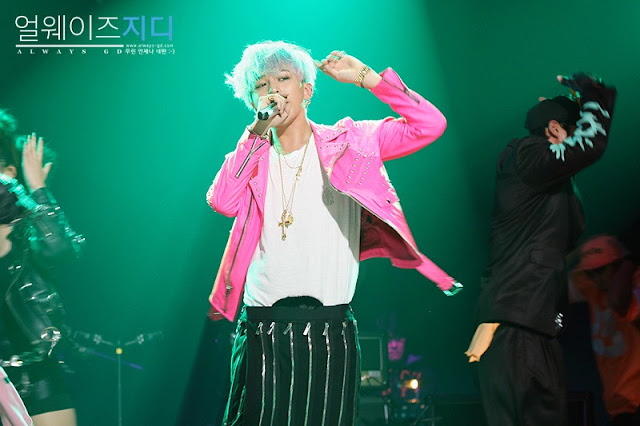 G-Dragon at Yoo Hee Yeol's Sketchbook 121009.