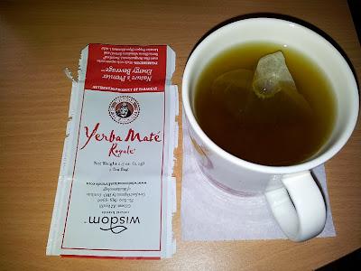 stevialla makeutettu yerba mate tee