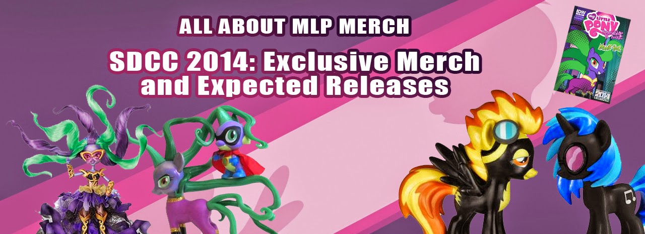SDCC 2014 Exclusive Merch and expected releases