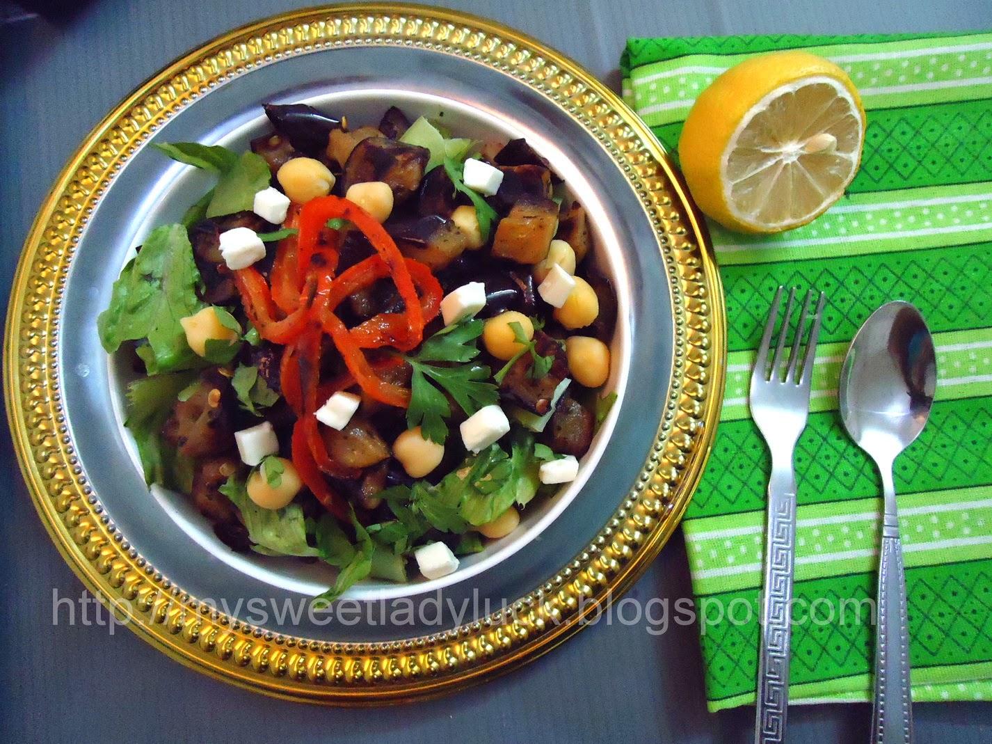 salad terong