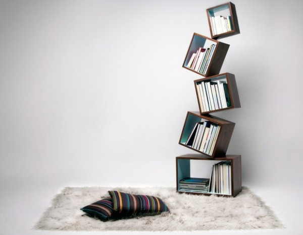 Equilibrium Bookcase by Malaganafrom