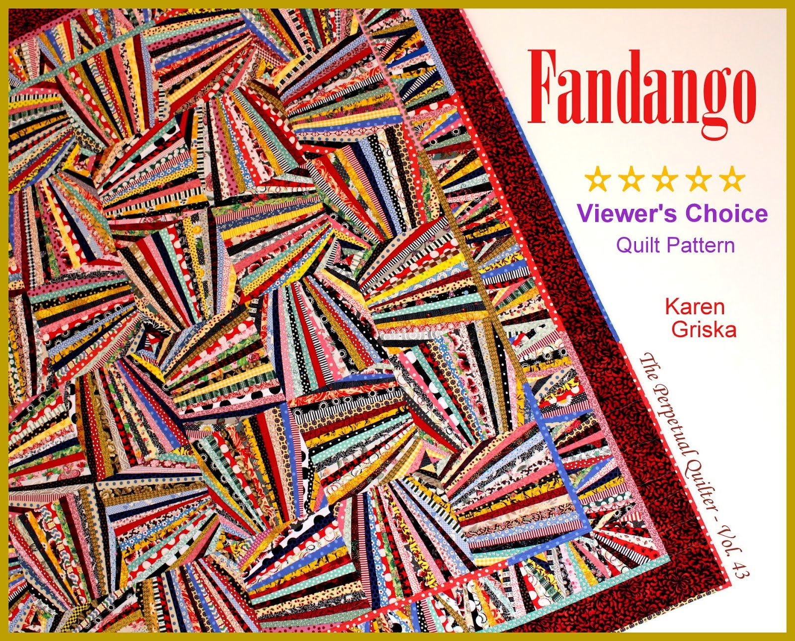 New Fandango Quilt Pattern!