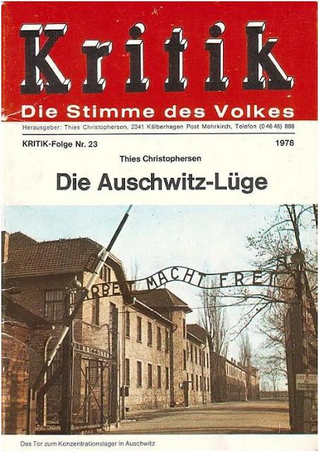 """Обложка """"Ложь об Освенциме"""""""