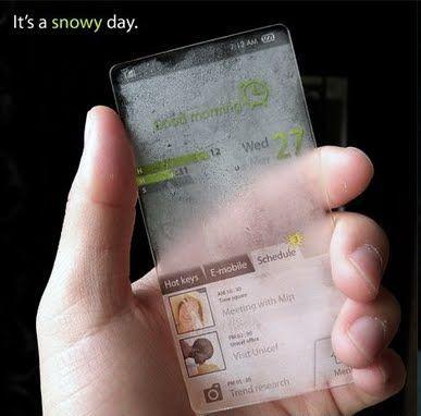 Handphone Transparan