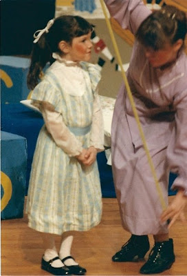 Throwback Thursday, #tbt, Mary Poppins, community theater, stage makeup, theater makeup, theater kid, Cleveland, Beachwood Community Theater
