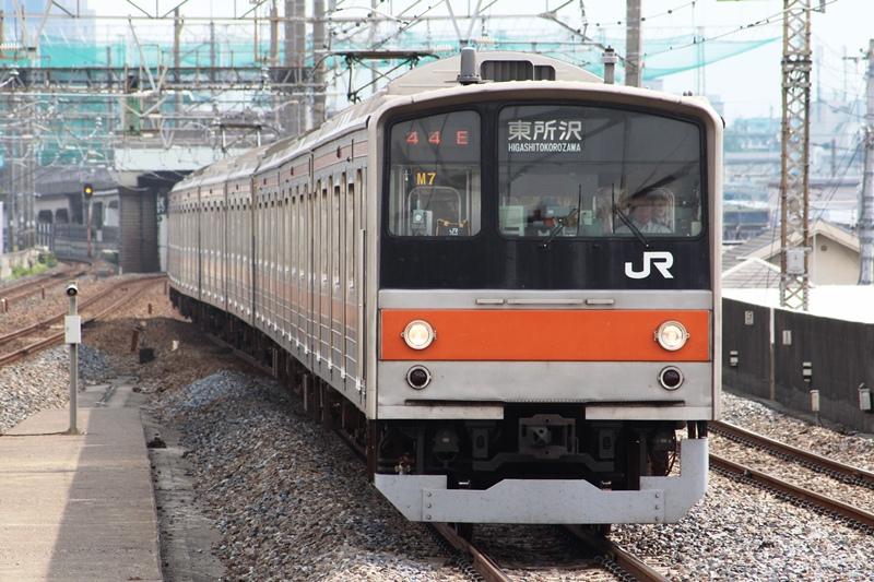 発車オーライ!: 武蔵野線205系 旧方向幕