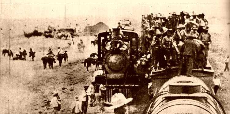 Trenes en Torreón