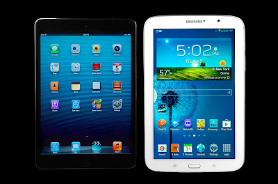 Perbandingan antara Samsung Galaxy Note 8.0 vs Ipad Mini | Portal
