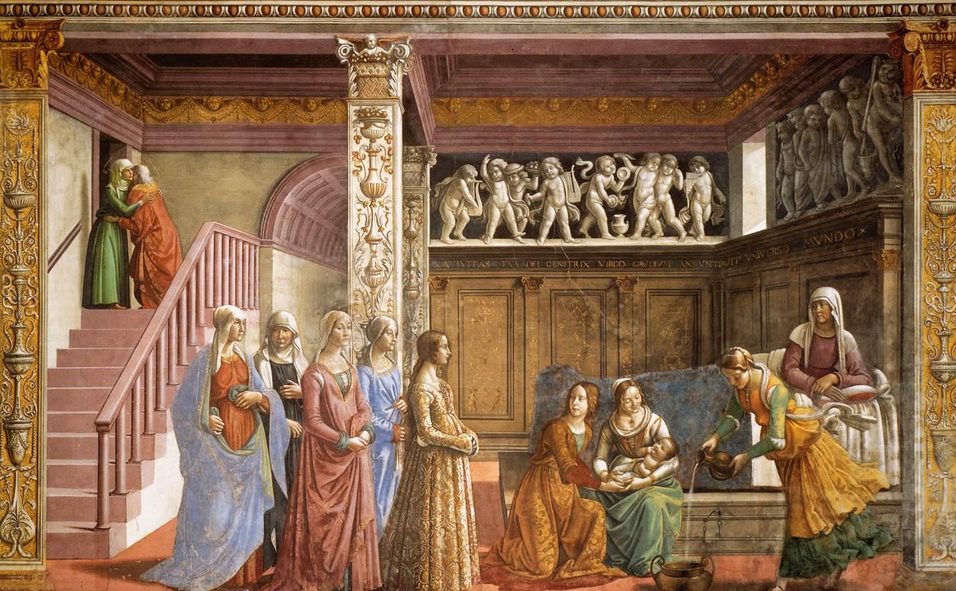 Cappella Tornabuoni nella Basilica di Santa Maria Novella