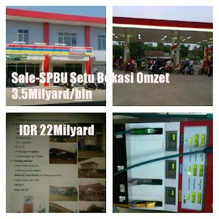 SPBU Dijual Murah Bekasi Dekat Kawasan Industri MM2100 Cibitung