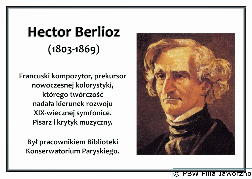 hector berlioz 1803 1869 essay Start studying hector berlioz learn vocabulary  1803-1869 berlioz's years of he wrote a biography and a series of essays on his symphonies.