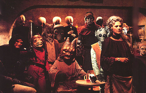 Star Wars Holiday Special Cantina