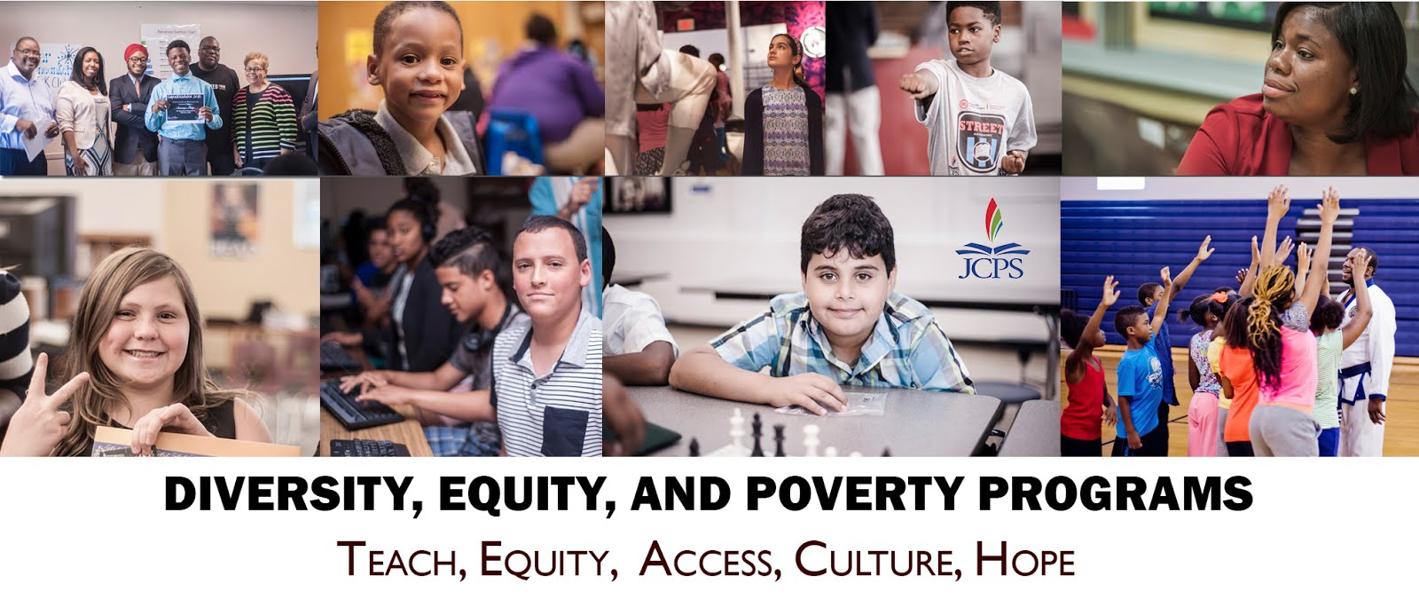 JCPS Diversity, Equity, and Poverty Programs