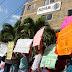 Se manifiestan familiares de presos de Holbox y exigen destitución de la delegada de la Profepa