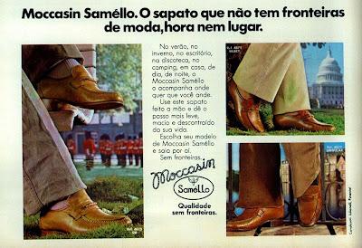 propaganda sapatos Samello - 1978