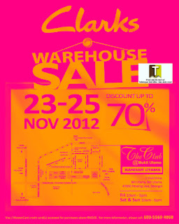 Clarks Warehouse Sale 2012 - shoes footwear