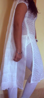 transparent salwar girl