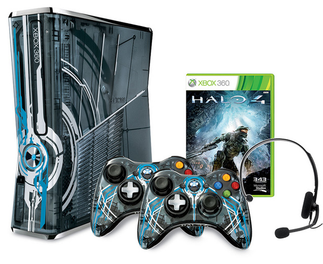 Of today international halo 4 limited edition xbox 360 bundle