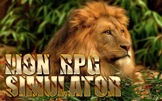 Screenshots of the Lion Rpg simulator for Android tablet, phone.