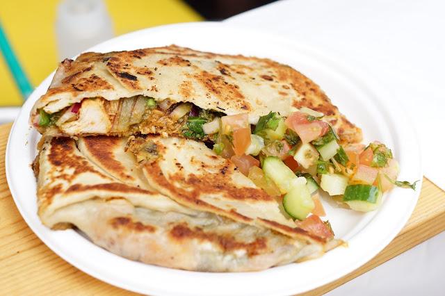 Emirates Hello East Food Festival Newcastle Chicken Baidi Roti