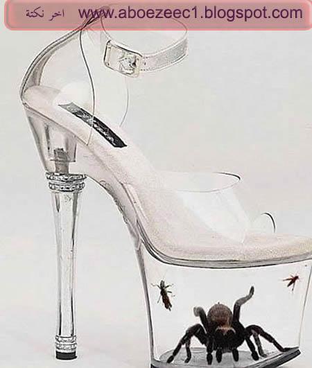 حذاء غريب وعجيب