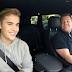 "Justin Bieber canta seus sucessos no programa ""Carpool Karaoke"""