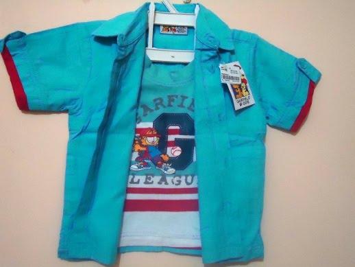 Model Baju Kemeja Anak Laki Branded Terbaru