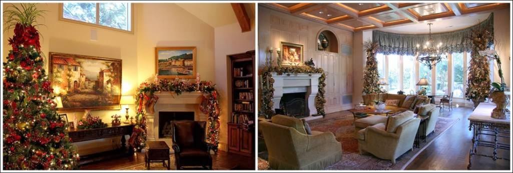 Décoration salon pour le Noël ~ Décoration Salon / Décor ...