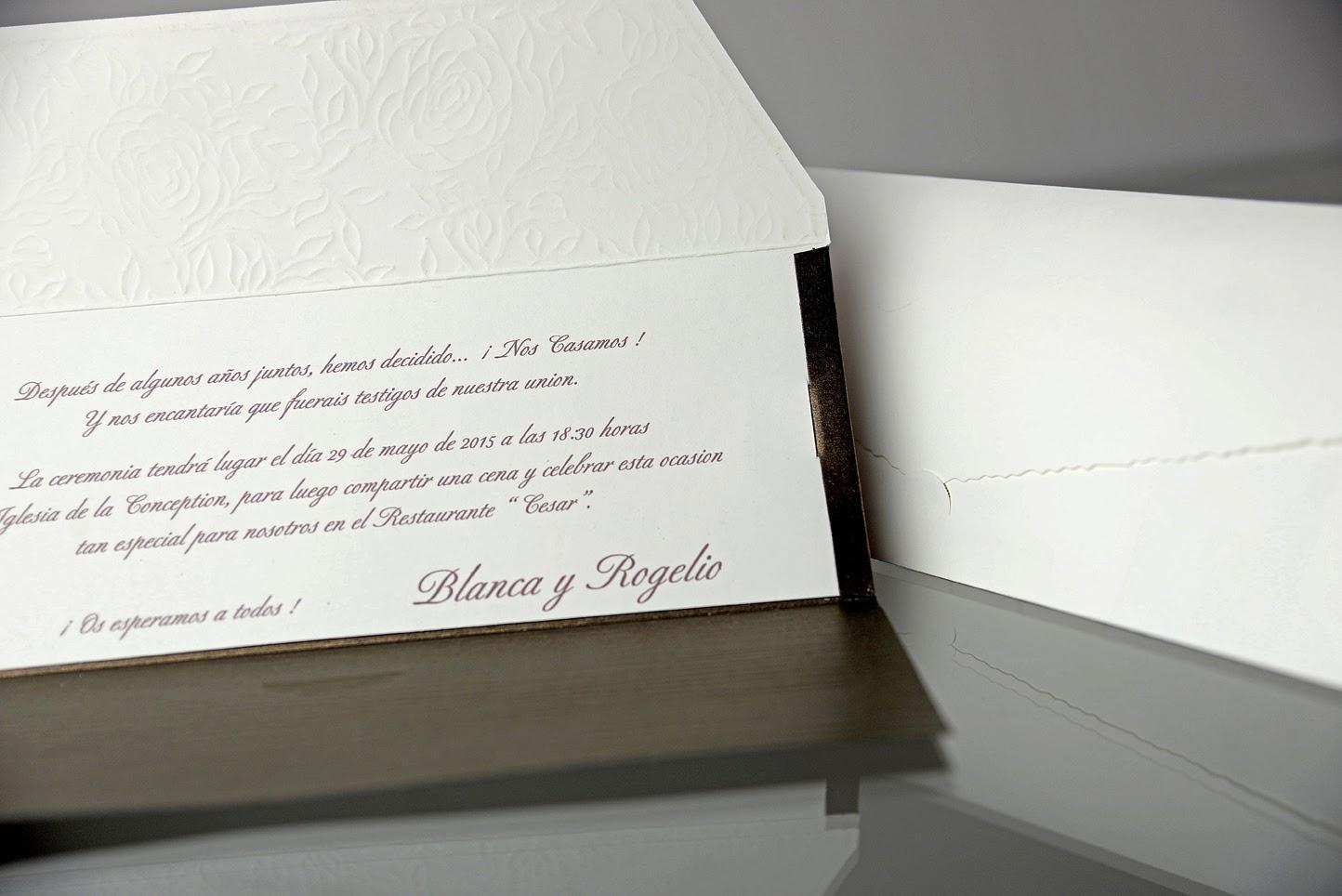 INVITACION DE BODA 34901 CARDNOVEL