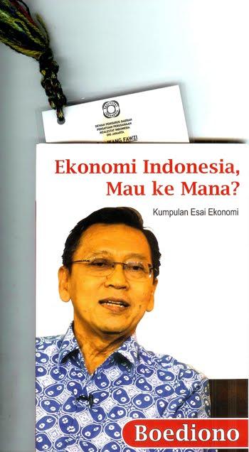 Tulisan Prof Boediono dari FEB UGM, Dosen Marissa Haque & Ikang Fawzi