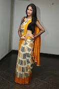 Lavanya Tripathi glam pics in saree-thumbnail-9