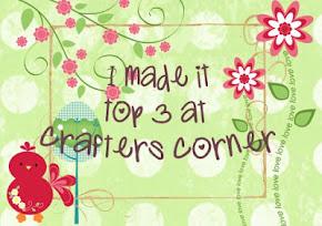 Top 3 crafters corner