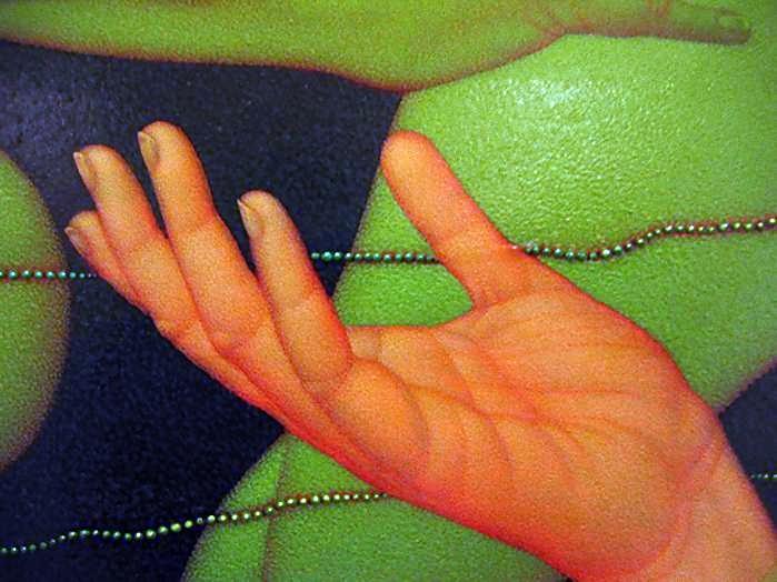 Dick Pieters 1941 Dutch Fantastic Realism painter
