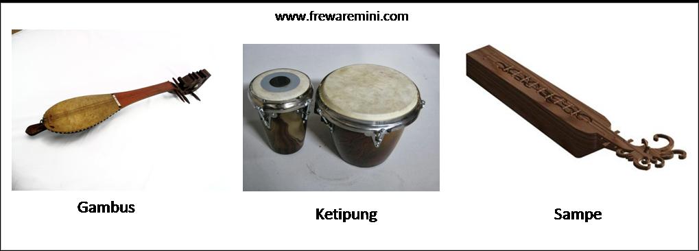 Alat musik tradisional Kalimantan Timur