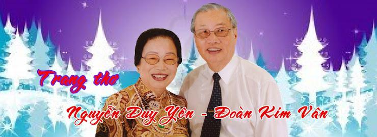 Thơ Nguyễn Duy Yên-Đoàn Kim Vân