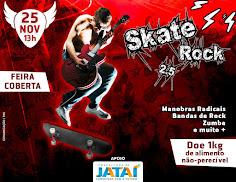 Prefeitura apoia a realização do Skate Rock 2.5 no espaço da Feira Coberta