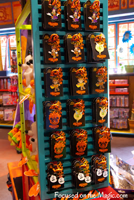 Disney Parks Halloween Pins