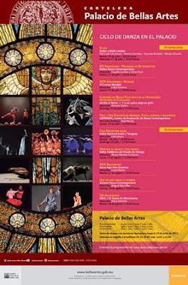 Ciclo de Danza en el Palacio de Bellas Artes
