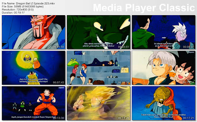 Film / Anime Dragon Ball Z Majin Buu Saga Episode 223 Bahasa Indonesia