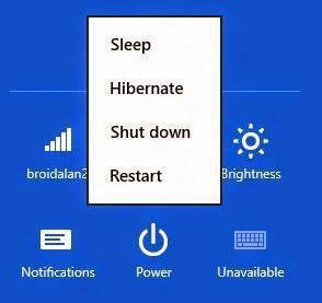 Cara Mematikan atau Mengaktifkan Fitur Hibernate Windows 8