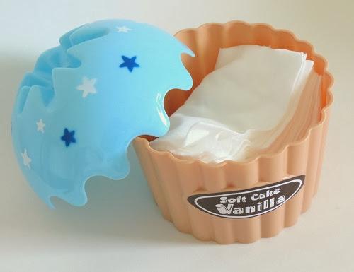 Cupcake Porta lenços