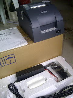 PRinter KASir TM220 B new serial