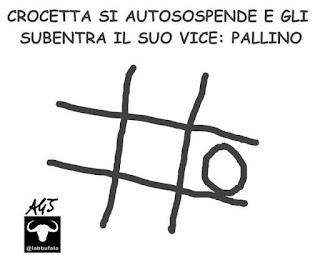 Crocetta, Borsellino, intercettazioni, satira vignetta