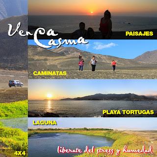TURISMO EN CASMA - ANCASH - PERU
