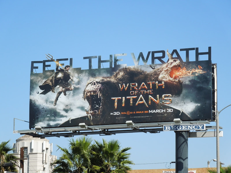 Feel the Wrath movie billboard
